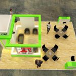 طراحی مدرن غرفه