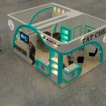 ساخت غرفه شرکت داروئی امرتات