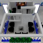 طراحی غرفه تکاب اتصال