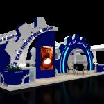 ساخت غرفه گروه صنعتی آذر یاب 97