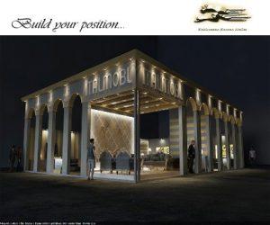 طراحی غرفه